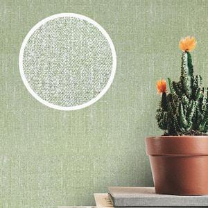 이지벽지 시트지 패브릭 그린 (FB-412)  국산 DIY 기포제로 손으로 붙이는 쉬운 벽지